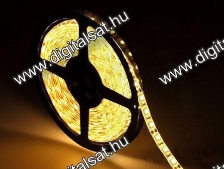 3528 LED szalag 120 LED/m meleg fehér IP20 1cm