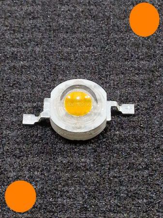 1W Power LED naracssárga 110 Lumen 595-600nm
