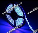 3528 Kék LED szalag 1 cm 60 LED/m IP20