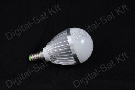 E14 LED 5W izzó 650 Lumen hideg fehér 2 év garancia