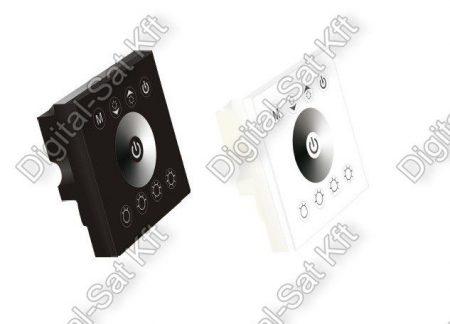 Egyszínű Fali LED szalag dimmer vezérlő 96W/192W