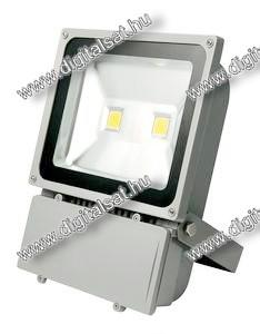 100W LED reflektor 10000lm hideg fehér IP65 2 év garancia MAGYARORSZÁGON összeszerelt termék