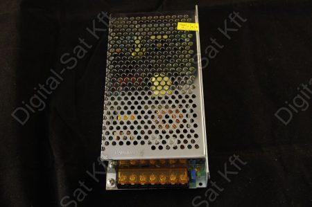 120W LED szalag tápegység, 10A, 12V beltéri, fémházas