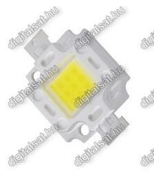 10W meleg fehér POWER LED 900 lumen 1év garancia