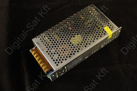 180W LED szalag tápegység, 15A, 12V beltéri, fémházas