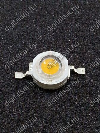 1W Power LED 4000K 130-140 Lumen semleges fehér 1 év garancia