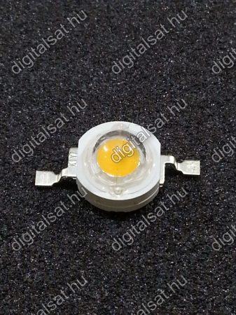 1W Power LED 6000K 180 Lumen hideg fehér 1év garancia