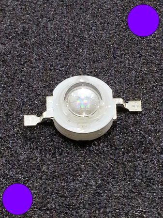 1W Power LED lila 110 Lumen 2100-2200K