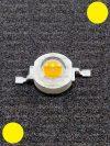1W Power LED sárga 110 Lumen 1900-2000K
