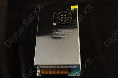 300W LED szalag tápegység, 25A, 0-12V beltéri, fémházas