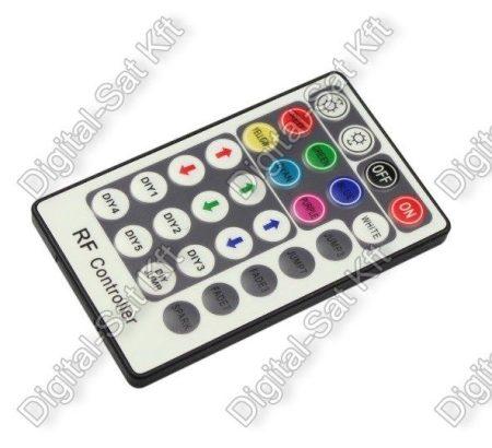 RGB LED szalag vezérlő 216W 28 gombos rádiós, távirányító