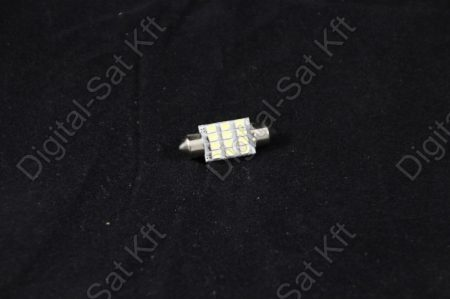 LED izzó 12V 12 smd 1210 31mm szofita LED  izzó