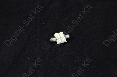 LED izzó 12V 6 smd 5050 31mm szofita LED  izzó
