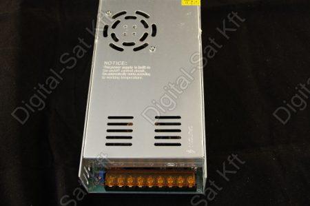400W LED szalag tápegység, 33A, 0-12V beltéri, fémházas