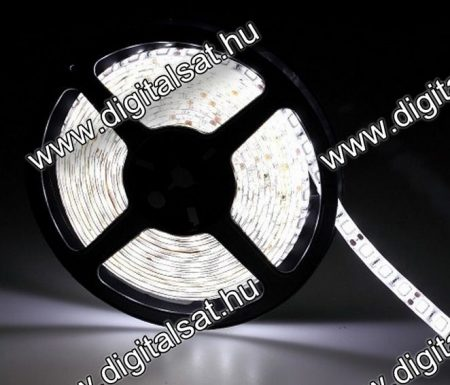 3528 LED szalag 30 LED/m hideg fehér IP44 1 m