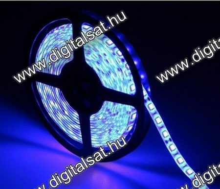 3528 Kék LED szalag 60 LED/m IP20