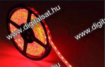 3528 Piros LED szalag 1 cm 60 LED/m IP44