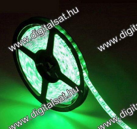 3528 Zöld LED szalag 1 cm 60 LED/m IP44