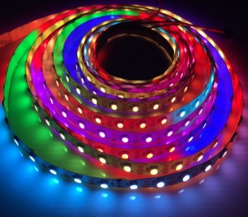 3535 Digitális LED szalag Programozható SK6812 144 LED/m Pixel LED