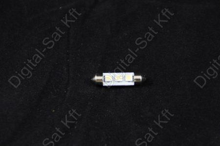 LED izzó 12V Szofita 39mm 3 smd 5050 jégfehér 6500K