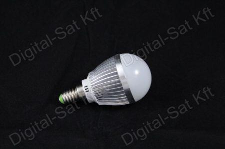E14 LED 3W izzó 390 Lumen hideg fehér 2 év garancia