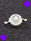 3W Power LED sötét lila 50 Lumen 2100-2200K
