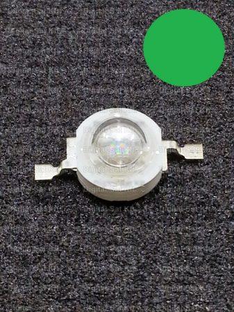 3W Power LED Zöld 160Lumen 525-530nm