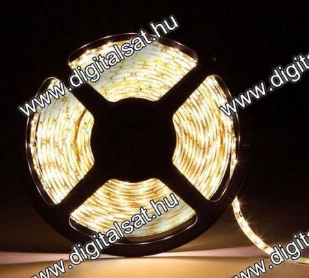 5050 LED szalag 60 LED/m meleg fehér 1200 Lumen IP44