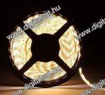 5050 LED szalag 60 LED/m meleg fehér 1200 Lumen IP20
