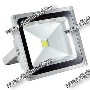 50W LED reflektor 6000lm hideg fehér IP65 2 év garancia MAGYARORSZÁGON összeszerelt termék