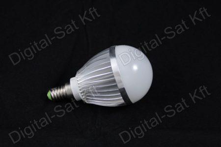 E27 LED 5W izzó 650 Lumen hideg fehér 2 év garancia