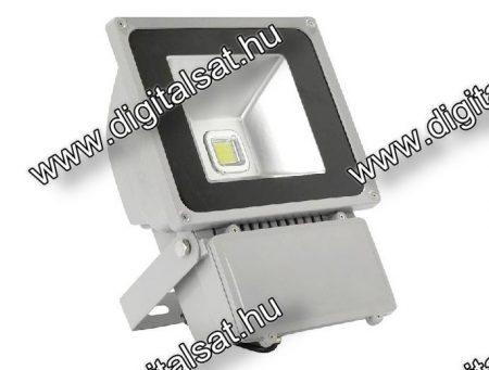 70W LED reflektor 7000lm hideg fehér IP65 2 év garancia MAGYARORSZÁGON összeszerelt termék