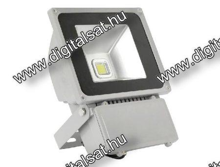 70W LED reflektor 7000lm meleg fehér IP65 2 év garancia MAGYARORSZÁGON összeszerelt termék