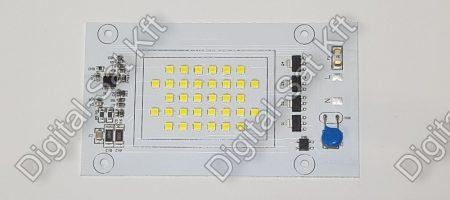 AC SMD COB 30W LED hideg fehér LED 3000 lumen 2 év garancia