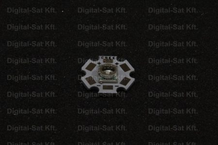CREE Q5 XRE xr-e Q5 3W LED KÉK 20mm hűtőcsillagon