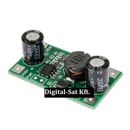 PWM vezérlésű áramgenerátor 350mA DC-DC konverter 10 darab LED-hez