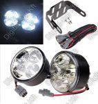 Köralakú nappali menetfény LED, DRL, E8 jeles, 4W, 400 Lumen, E8, RL