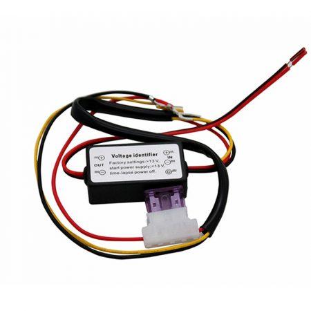 DRL, LED menetfény auto on-off relé, időzített automatikus ki-be kapcsoló 12V