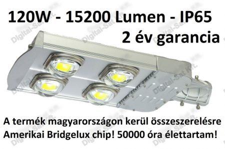 120W utcai LED lámpa 15200 Lumen IP65 2 ÉV garancia MAGYAR TERMÉK