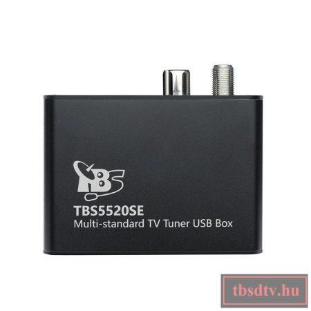 DVB-S2/S/T/T2/ C Single TUNER, USB multi-tuner vevőegység, TBS-5520-SE