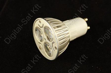 GU10 LED spot 3W izzó 540 Lumen hideg fehér