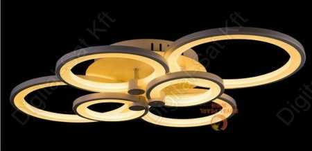 Design LED csillár Royal Pearl 6 tagú kör