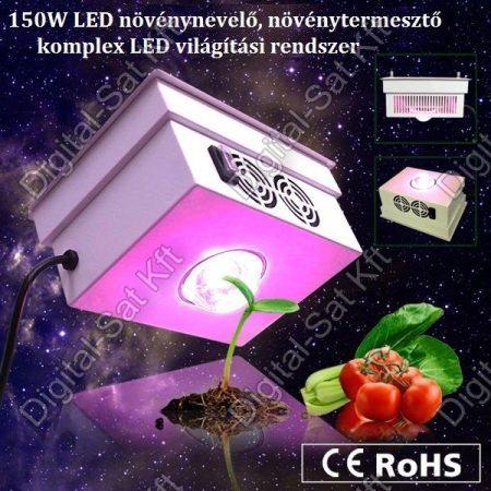 150W LED növénynevelő, növény termesztő komplex LED világítás