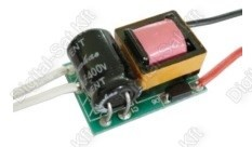 POWER LED tápegység, áramgenerátor 1-3 darab 1W-os LED-hez AC