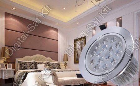 Sol 18W spot LED mélysugárzó lámpa kerek 3240 Lumen álmennyezetbe építhető