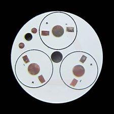 PCB-Alumínium hűtőlap 3 db POWER LED-hez