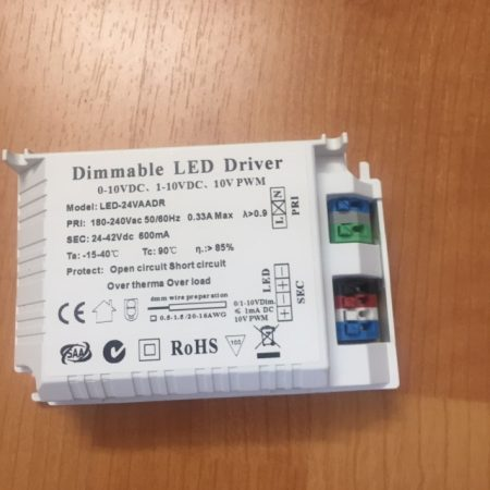 Dimmable LED Driver  PWM/DC  20W