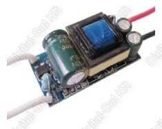 POWER LED tápegység, áramgenerátor 8-12 darab 1W-os LED-hez AC