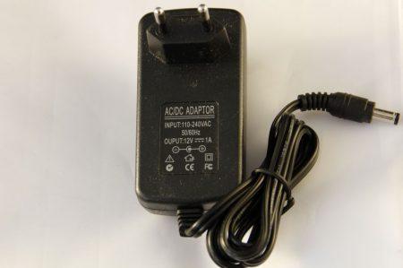 12W LED szalag tápegység, 1A, 12V