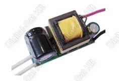 POWER LED tápegység, áramgenerátor 4-7 darab 1W-os LED-hez AC